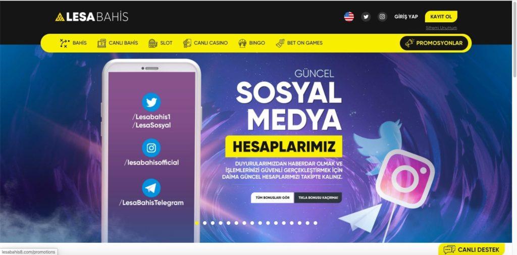 lesabahis sosyal medya 1024x505 - Lesabahis Yeni Giriş Kayıt Adresi